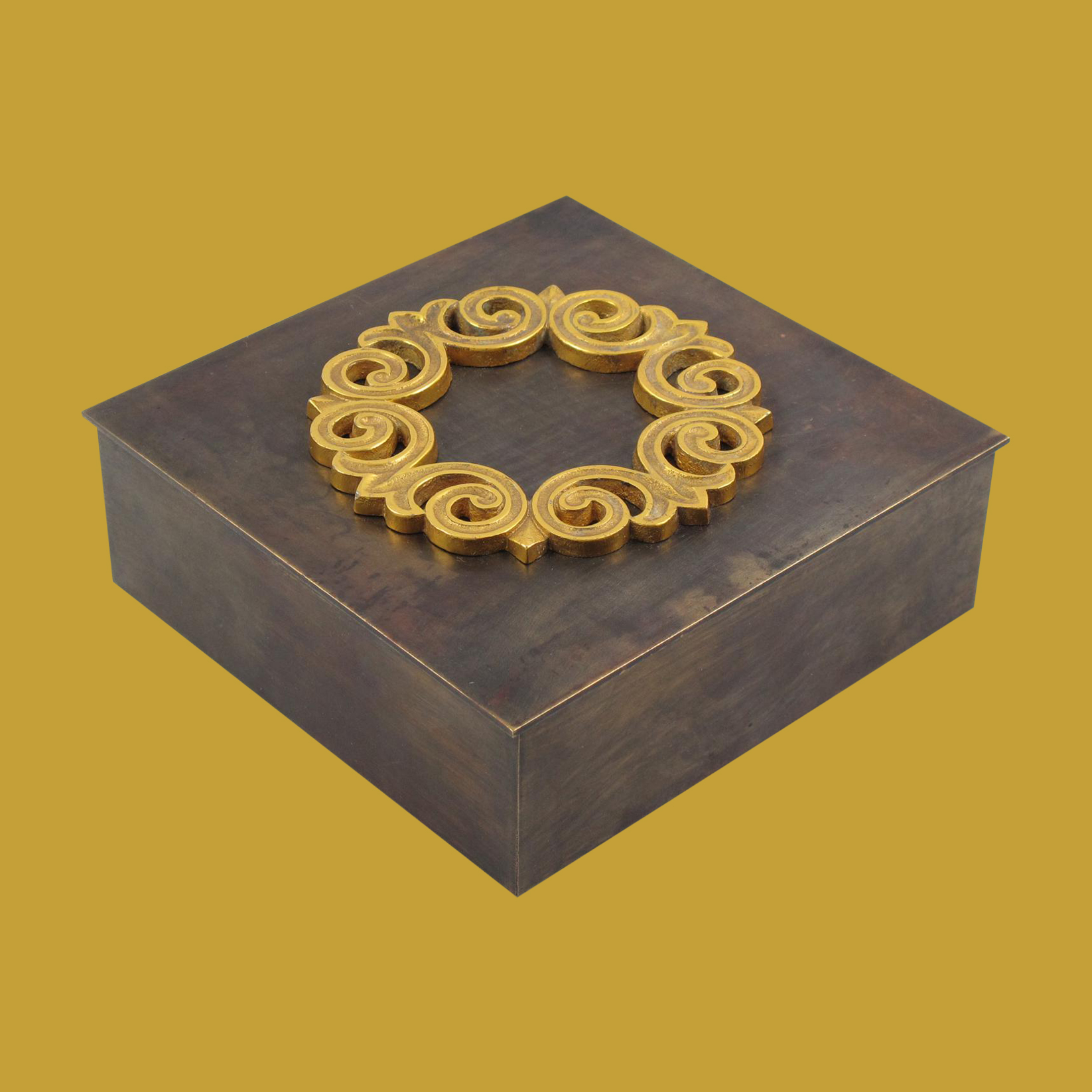 pewter-brass-box